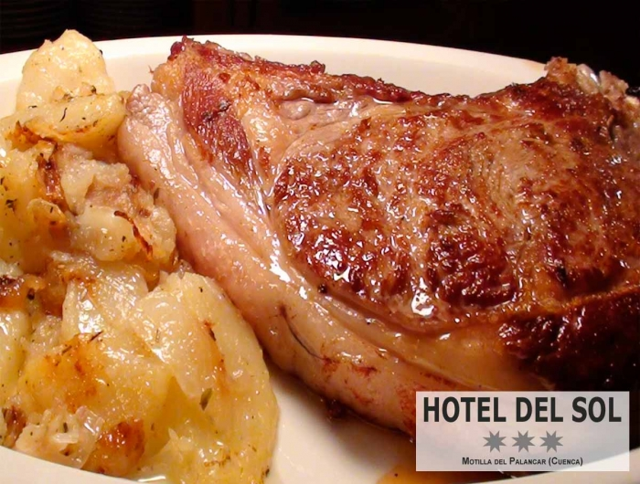 Daily Menu with T-Bone Stick (500gr to 600gr) only 3,70€ plus